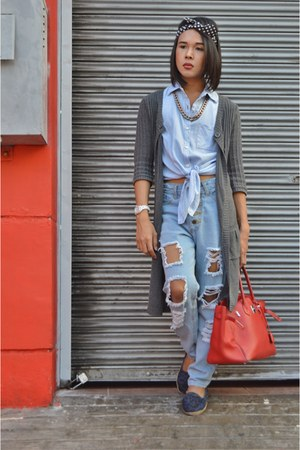 white j12 Chanel watch - distressed thrifted jeans - togo birkin 35 Hermes bag