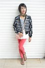 Forever-21-jeans-circles-en-dots-jacket-ten-co-shirt-chanel-bag