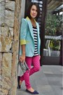 Step-rite-shoes-pink-plaid-chaps-leggings-pastel-the-ramp-blazer