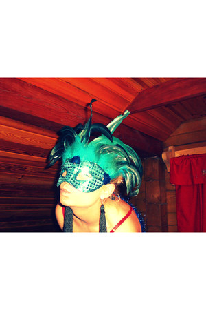 mask accessories - handmade earrings