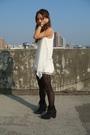 Black-stockings-white-vest