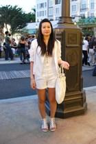 Nordstrom BP top - H&M shorts - H&M purse - Korean boutique blazer - shoes