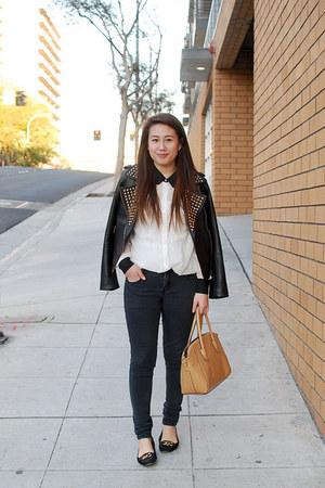 satchel yeswalker bag - denim cotton on jeans - Forever 21 jacket