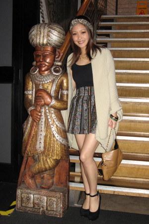 Primark skirt - Primark top - Dorothy Perkins heels