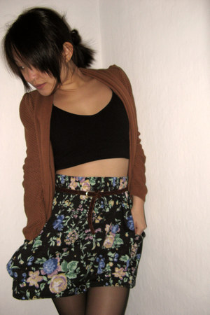 tawny Bershka cardigan - black Fashion House skirt