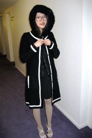 Zara coat - asos dress - Aldo shoes