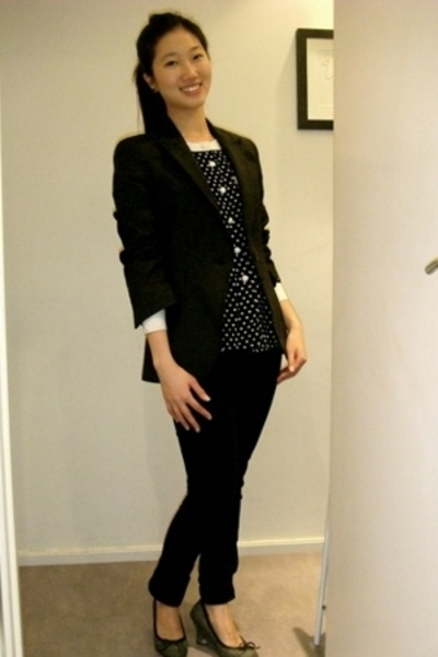 Zara blazer - cheap mondays jeans - Zara blouse