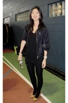 g2000 blazer - Target blouse - balenciaga accessories - Shanghai Tang accessorie