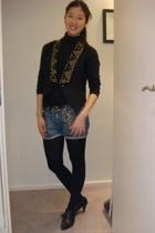 forever 21 vest - asos shorts - Topshop belt