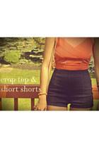 high waisted Kimchi Blue shorts