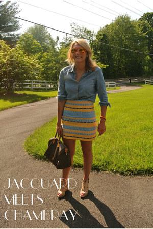 jacquard Zara skirt