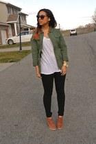 green PacSun jacket