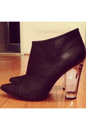 lucite tildon heels