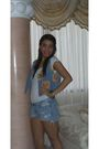 Blue-hollister-shorts-white-forever-21-t-shirt-blue-vintage-vest