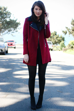 brick red Chicwish jacket