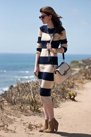beige jason wu x target purse - camel asos shoes - beige Stylenanda dress