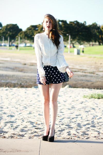 navy DIY shorts shorts - white 31 Phillip Lim blouse