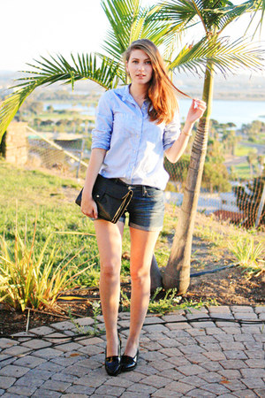 light blue madewell shirt