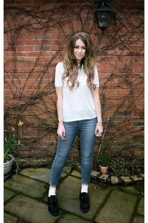 H&M t-shirt - Underground shoes - Topshop jeans