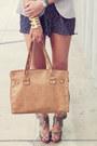 Jcrew-blazer-hammitt-bag-valentino-wedges-f21-romper