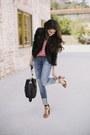 Genetic-denim-jeans-topshop-jacket-madison-marcus-blouse-zara-heels
