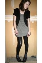 Rogan for Target t-shirt - H&M sweater - Target leggings - Nine West shoes