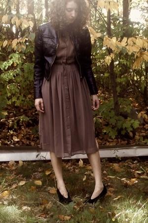 Target dress - forever 21 jacket - Target boots