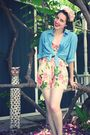 H-m-swimwear-h-m-shirt-betsey-johnson-shorts-payless-shoes-h-m-accessori
