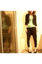 H&M t-shirt - Urban Outfittersutfitters blazer - forever 21 pants - H&M necklace