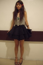 those childhood days accessories - Topshop top - asoscom skirt