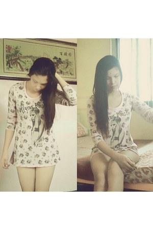 pink LEL dress