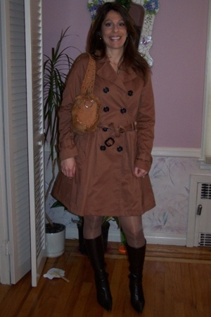 H&M jacket - accessories - payless boots