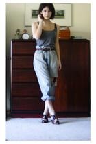 alchemic shirt - thrift belt - stuart weitzman shoes - uhhh i dont know jeans