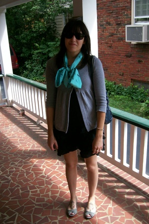 Gap scarf - Old Navy - Go International target dress - shoes