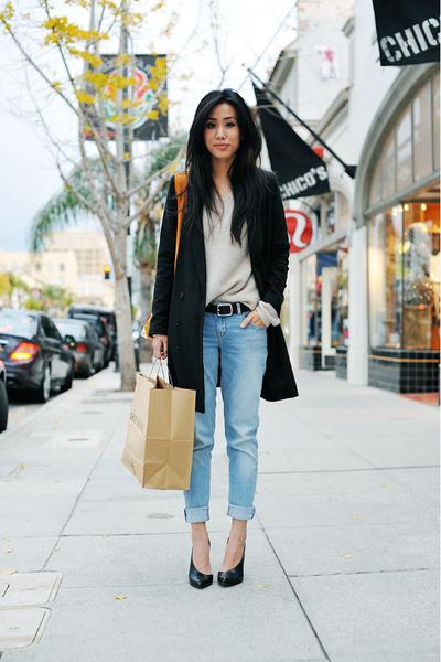 black by rodebjer Dear Fieldbinder blazer - Zara jeans