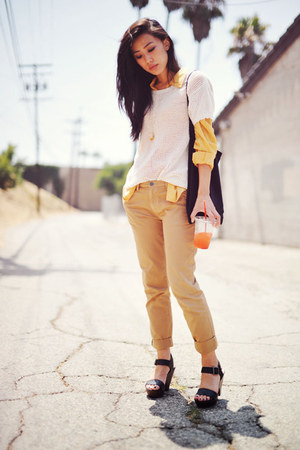 My Hot Shoes sandals - sheeryellow Forever 21 blouse