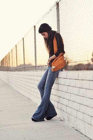 Kasil Workshop jeans - wedges suede Steve Madden shoes - Forever 21 hat