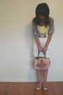 Garage-cardigan-forever-21-shirt-ardenes-skirt-unknown-brand-shoes-juicy