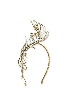 gold Bijoux Heart LAir Headband accessories