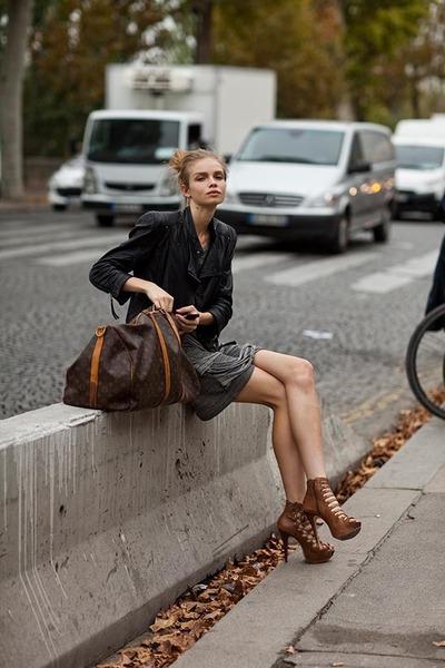 Leather Bag Louis Vuitton Bags Diamond Is S Best Friend