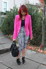 Printed-forever-21-pants-givenchy-boots-forever-21-blazer