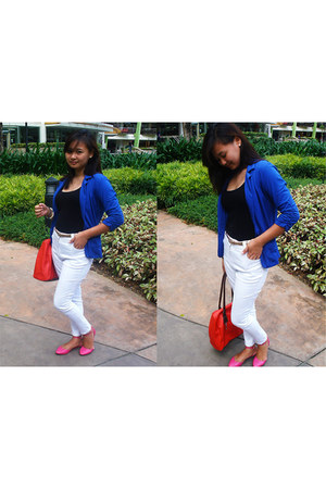 FX blazer - Secosana bag - FX top - Bando Jeans pants