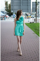 chiffon dress asos dress - leather heels next heels