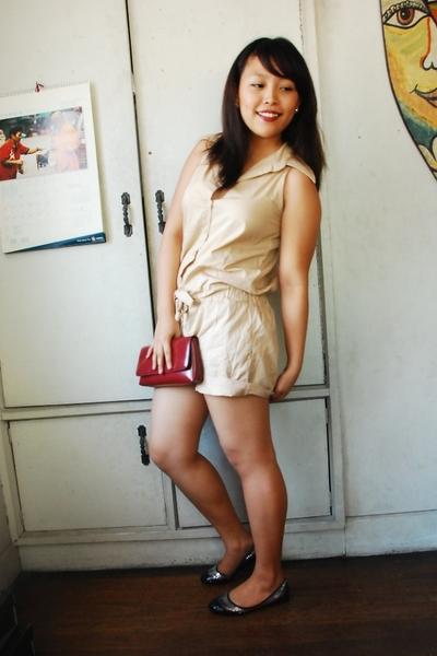 SM suit - Esprit purse - cinderella shoes