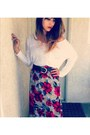 Ruby-red-forever-21-dress-white-the-blush-store-shirt