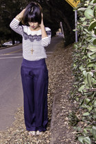 navy The Boutique pants - The Boutique shirt