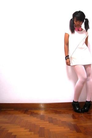 shirt - tights - Club Marc boots
