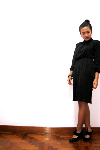 dress - Charles & Keith shoes