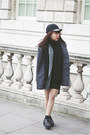 Charcoal-gray-river-island-shoes-heather-gray-tailored-coat-black-monki-hat