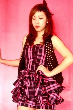pink Trs Belle dress